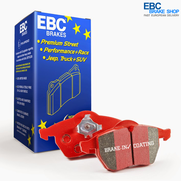 DP31526C EBC Redstuff Rear Brake Pads fit ALPINE RENAULT A610 Alpine Clio